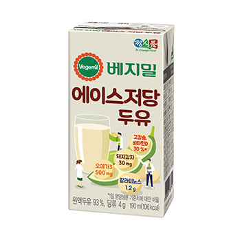 Vegemil Light Sugar New Ace Soymilk